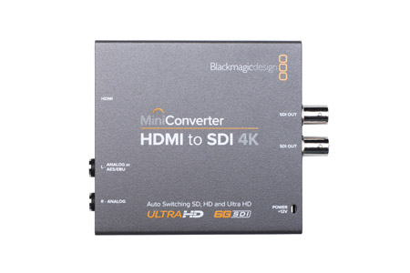 Blackmagic Mini Converter HDMI to SDI 4K