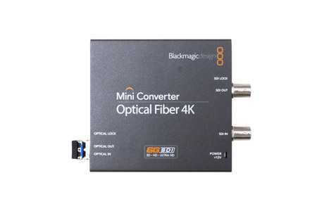 Blackmagic Mini Converter Optical Fiber 4K